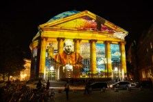 St. HEdwig at Bebelplatz, Festival of Lights 2018