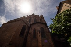 Like I said, mountains of bricks: Couvent des Jacobins in Toulouse with its 8-sided spire