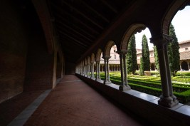 Courtyard at Couvent des Jacobins, Toulouse