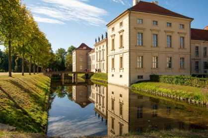 Rheinsberg castle, where Frederick the Great spend his happiest years, before he became king first in and then of Prussia.