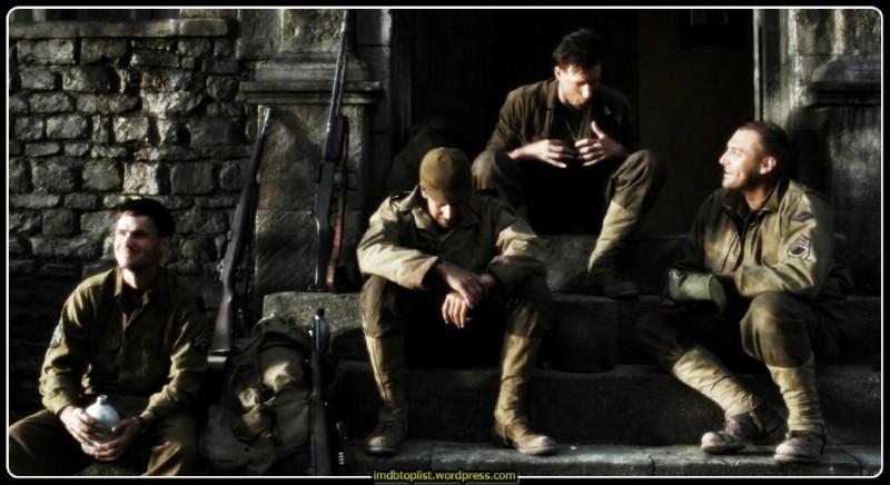 Saving Private Ryan,1998,Er Ryan'ı Kurtarmak,Спасти рядового Райана,Steven Spielberg, Tom Hanks,Capt. John H. Miller,Tom Sizemore,Sgt. Mike Horvath,Capt. John H. Miller,ABD,169 Dak,