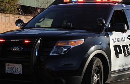 Yakima Police SUV