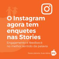 Você já pode fazer enquetes nas Stories do Instagram