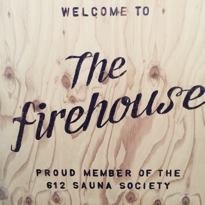 """Bud was so cozy that everyone started calling him """"The Firehouse."""""""