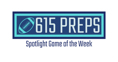 615 Preps Spotlight Game of the Week logo