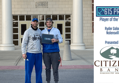 Citizens Bank Player of the Week – Division I semifinals