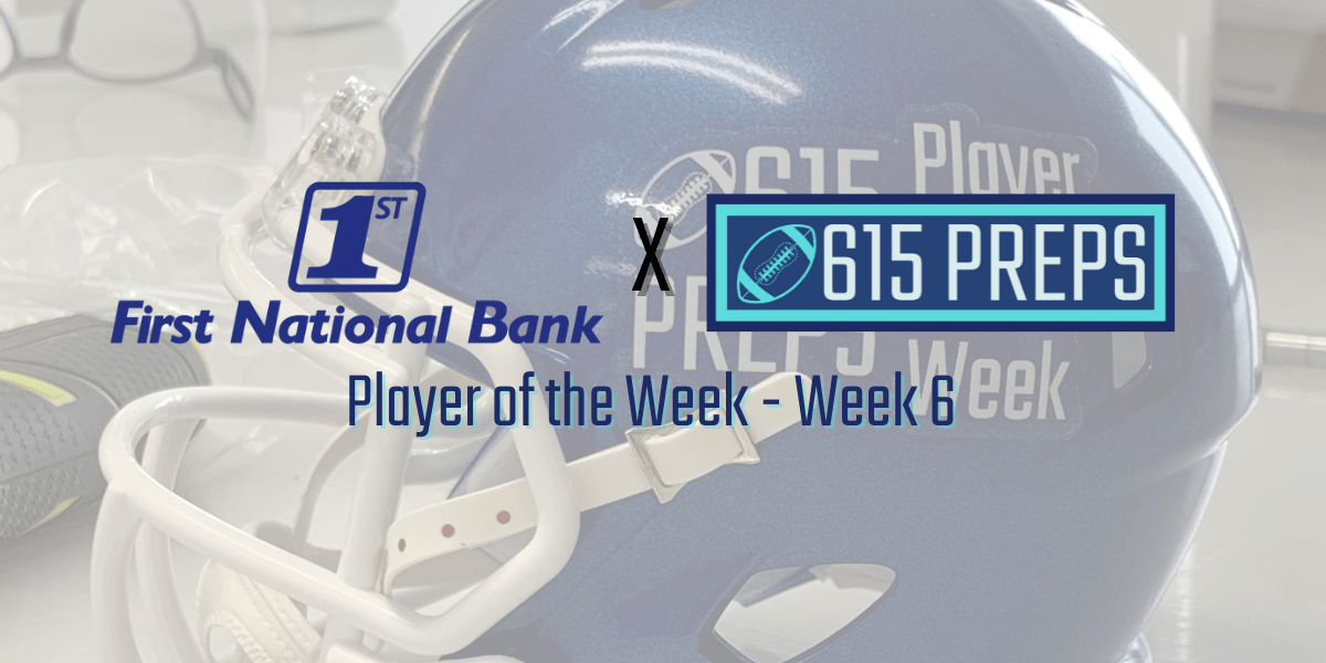 Vote for the First National Bank Player of the Week for Week 6!