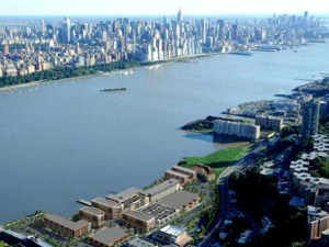 A DPW garage with million-dollar Hudson River views?