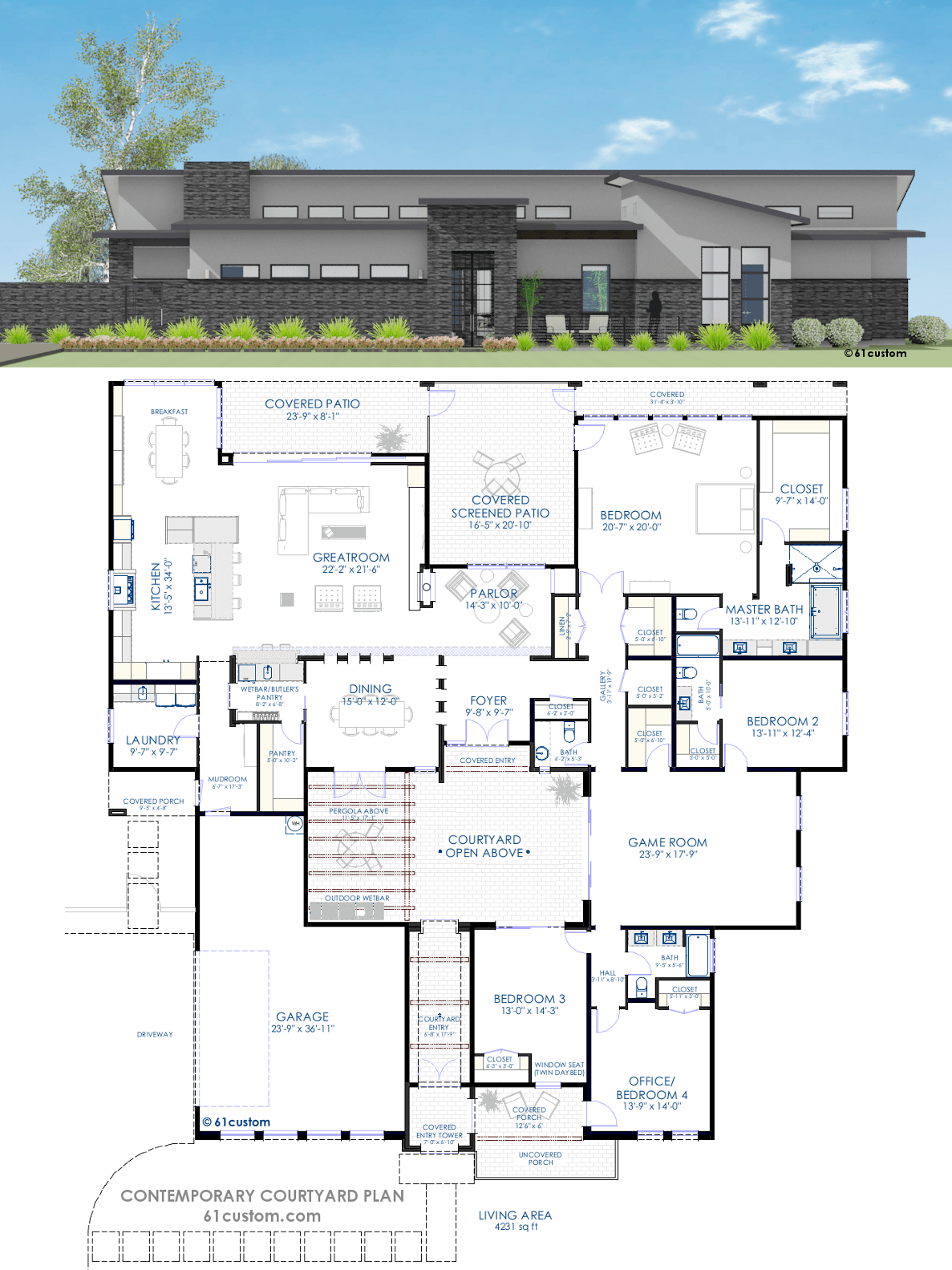 House Plans Open Floor Plan Large Kitchen