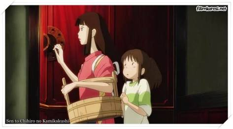 Sen to Chihiro no Kamikakushi,2001,Ruhların Kaçışı,Spirited Away,Rumi Hîragi,Miyu Irino,Mari Natsuki,125 Dak.,Japonca,