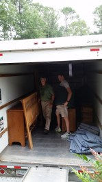 Moving day - packing it in!