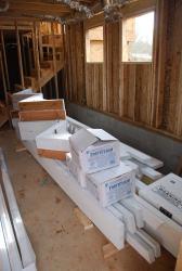 Bargeboards and brackets - primed and delivered