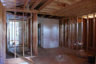 Second Floor Loft taking shape