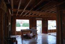 Family Room - ready for windows