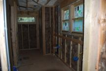 Master Bath with insulation