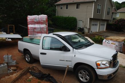 Back from Lowes with lots of insulation