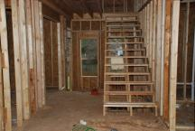 Main stair rebuilt with correct number of risers