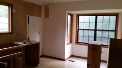 Empty corner of Kitchen
