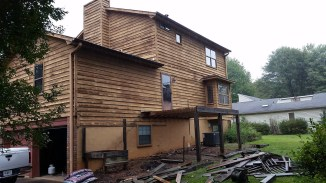Deck removal - salvaging lumber