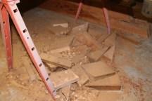 Scrap cedar ready for the fireplace