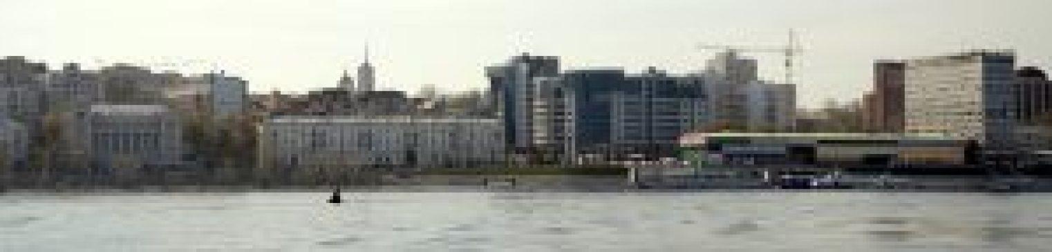 Самара панорама