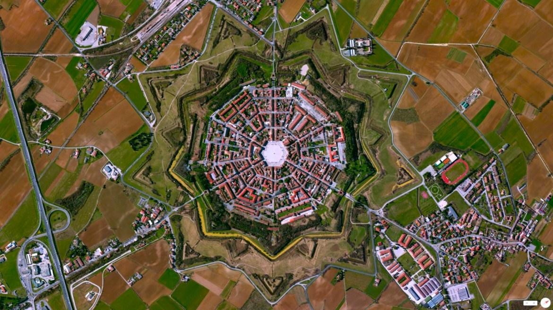 Palmanova Palmanova, Italy 45°54′19.45″N 13°18′35.92″E