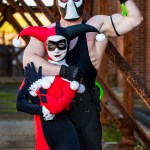 Thousand Faces Cosplay Bane And Classic Harley Quinn Photos Taken At