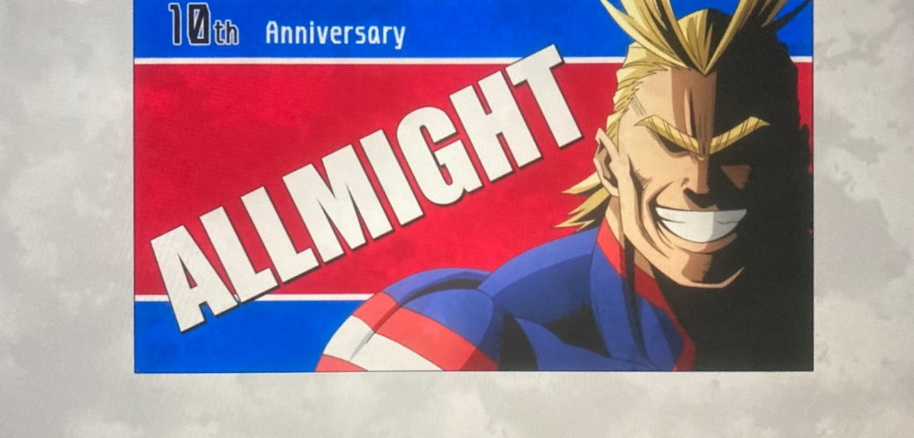 10th anniversary poster