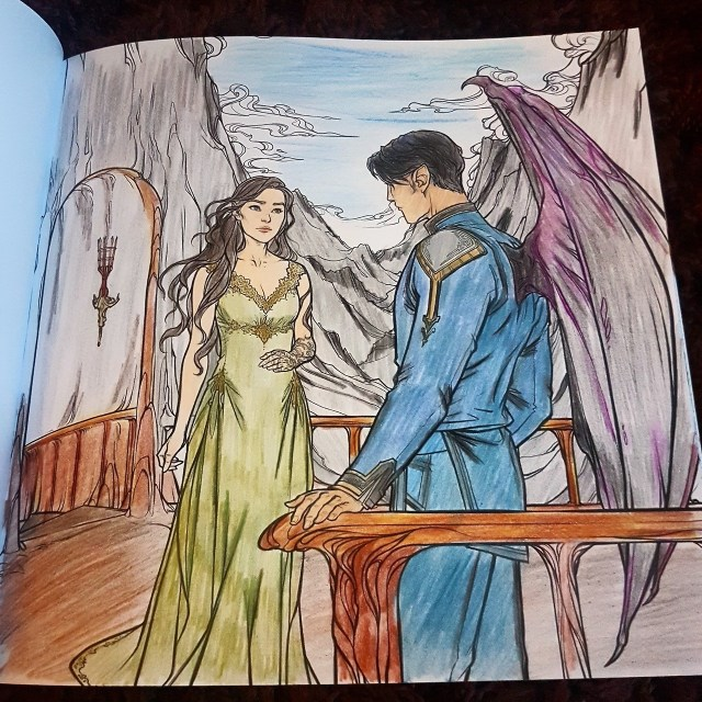 THE WORLD OF SARAH J. MAAS — How awesome are these colored pages