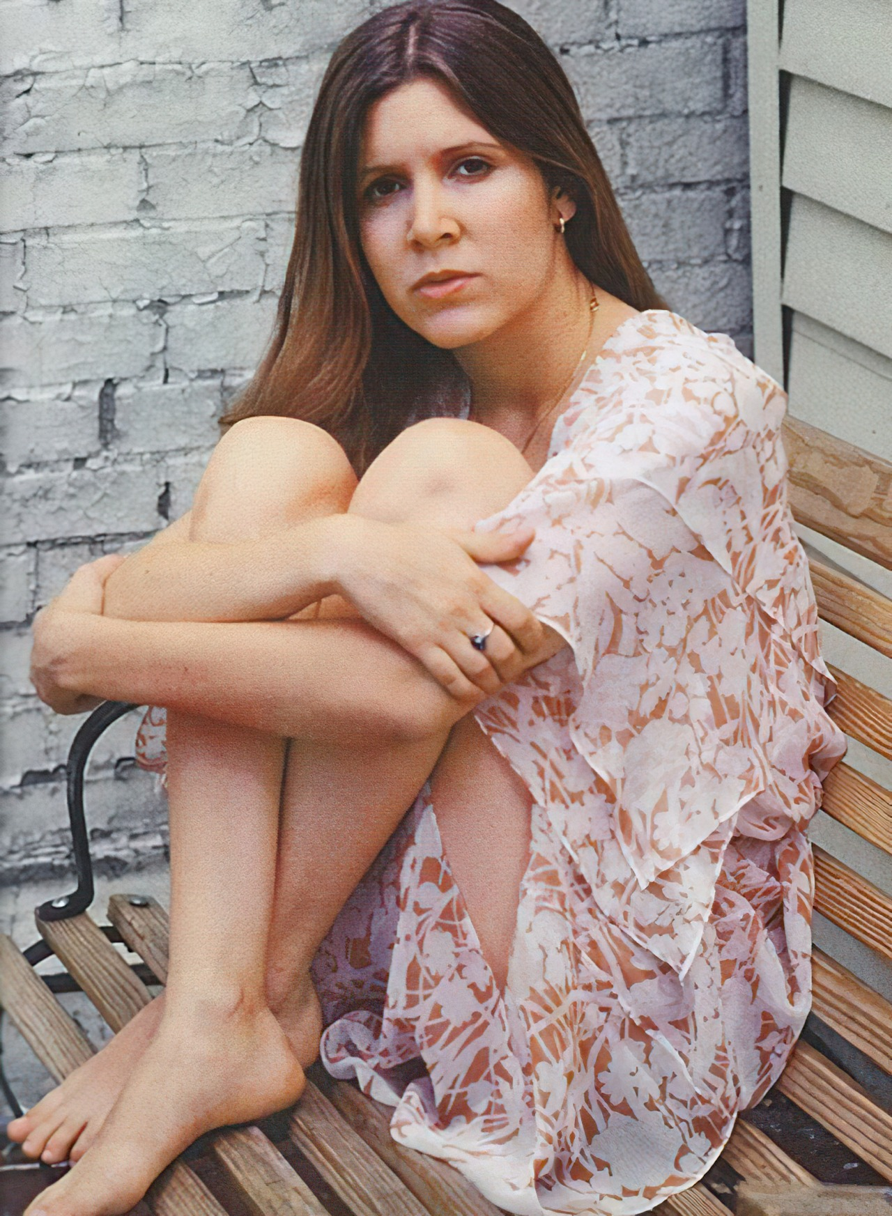Carrie Fishers Feet