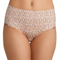SPANX Women's Undie-tectable Lace Cheeky Briefs. These cheeky SPANX briefs have an extra-wide waistband for a  comfortable, smooth fit. Sheer lace panels. Mon, 19 Jul 2021 04:48:43 +0400