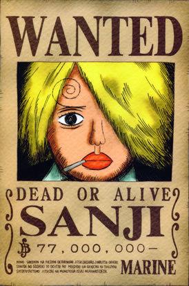 Dia pernah mencoba membunuh orochi, namun. Caffeine Nova One Piece 5 Straw Hat Pirate Crew Bounties