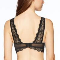 Women's Standard Mesh Bralette with Eyelash Lace Overlay. So, full disclosure: I can't actually wear this. I 'm an unusual size so anything sized S/M/L is a gamble for me and this was perfect in the cup size but the band was to o big for me. That said, for someone with more common proportions, this would be amazing! It's extremely soft against  your skin and highly attractive. The neckline sat securely but wasn't at all strangle-y, and the open back design was  lovely. If this came in a size that fit me I'd definitely be wearing it! Thu, 15 Oct 2020 04:48:42 +0400