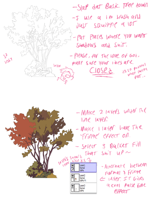 How To Draw Trees Tumblr