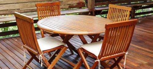 the beauty of teak wood patio furniture