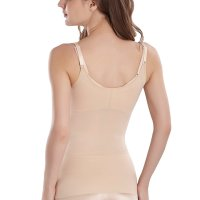 Cool Comfort Shapewear Top Seamless Firm Control Tank for Women. high elasticity, moderate control shaperwear ca n slim your waistline immediately. This tank top slenderizes your waist and flattens your tummy. Super soft and stretchy  fabric conforms to the body for a smooth flattering look and suitable for everyday moderate control. And you even don 't realize you're wearing shape wear.It is a basic that you'll want to add to your wardrobe. Wed, 24 Mar 2021 09:3 6:27 +0400