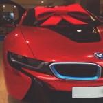 London Automotive Chrome Red Bmw I8 Merry Christmas