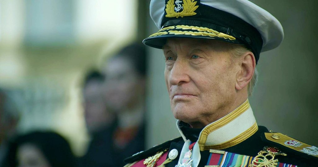 THE CROWN NETWORK — Charles Dance as Louis Mountbattan in The Crown...
