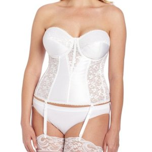 Women's Full figure Lace Corset Bra. Light boning slims and cinches waists, curves hips and... , Fri, 30 Jul 2 021 04:48:42 +0100