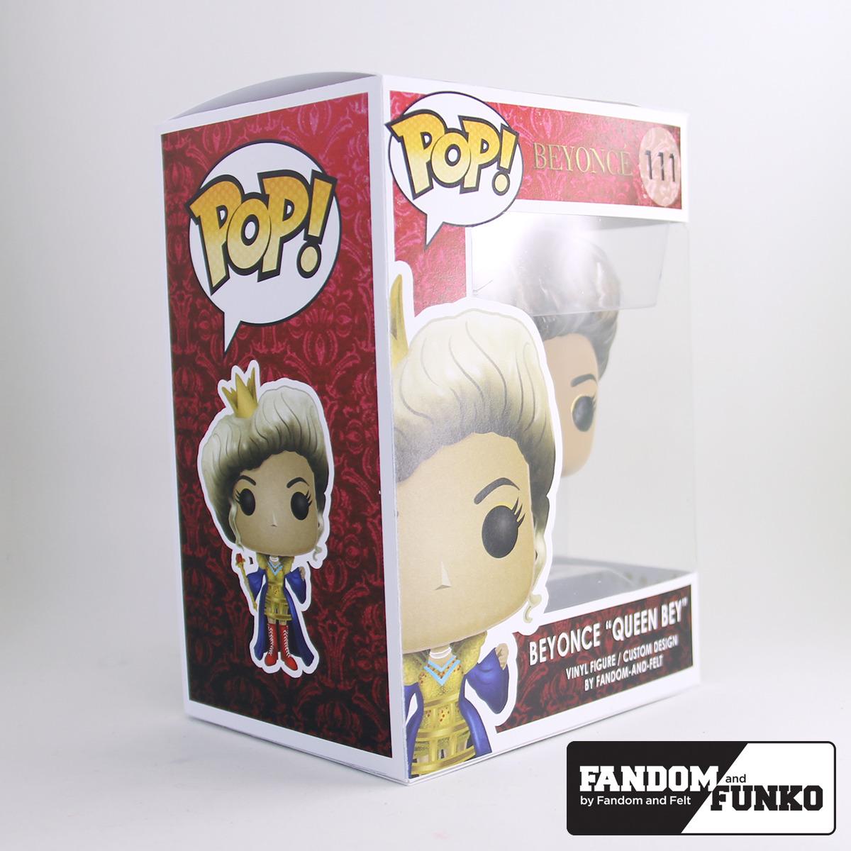 custom beyonce funko pop by