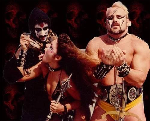 Pellucidar Notations — Wrestler Kevin Sullivan & Army Of Darkness