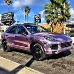 Porsche Cayenne Club Pink Chrome By Rdbla Porsche Cayenne Club