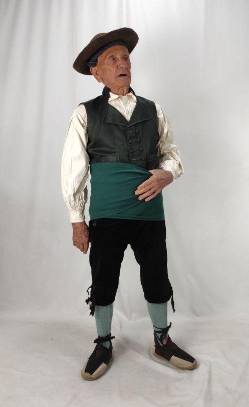 traje de calzon