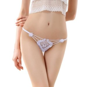 Womens Flowers Sexy Lace Thongs G-string T-back Panties Lingerie Underwear. Perfect for Party, the... , Mon, 24 May 2021 19:12:32 +0100