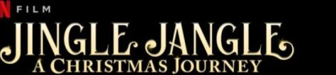 jingle jangle a christmas journey movie logo, netflix, netflix original