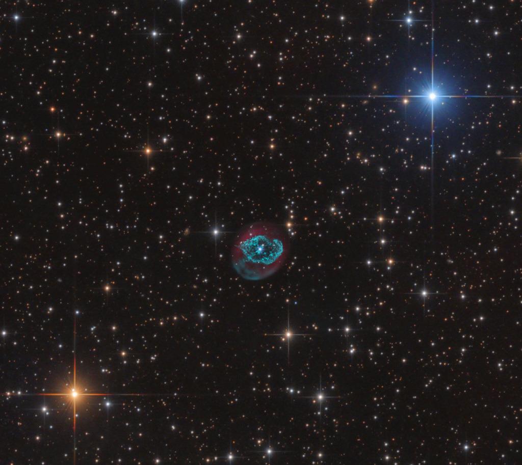 Planetary Nebula Abell 78 via NASA https://go.nasa.gov ...