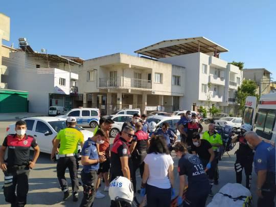 Buca'da Trafik kazası