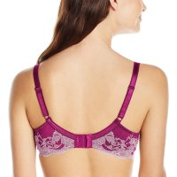 Women's Lace Affair Contour Bra. Lace affair contour bra with intricate cross-dye lace detail at center front  and back wing. It fits great and provides lots of support; it's the most comfortable bra I have so far. Fri, 27 Nov 20 20 19:12:35 +0400