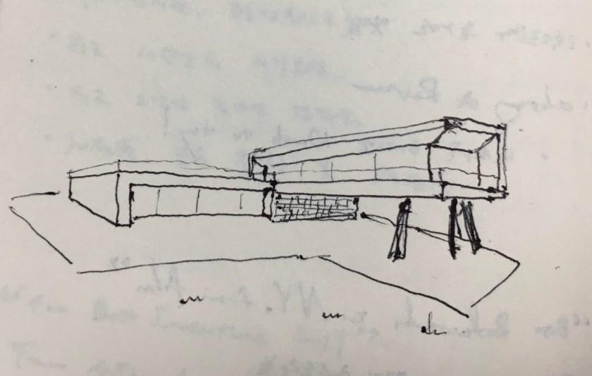 Drawing Modern House