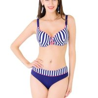 high-quality material and comfortable swimsuit with 100% material object photography and best services.The bikini features is two piece stripe bathing suit with adjustable shoulder straps, an anchor in the front, unique style, create a illusion for stunning curves.This summer, think all things feminine, delicate and beautiful. Tue, 08 Jun 2021 04:48:31 +0400